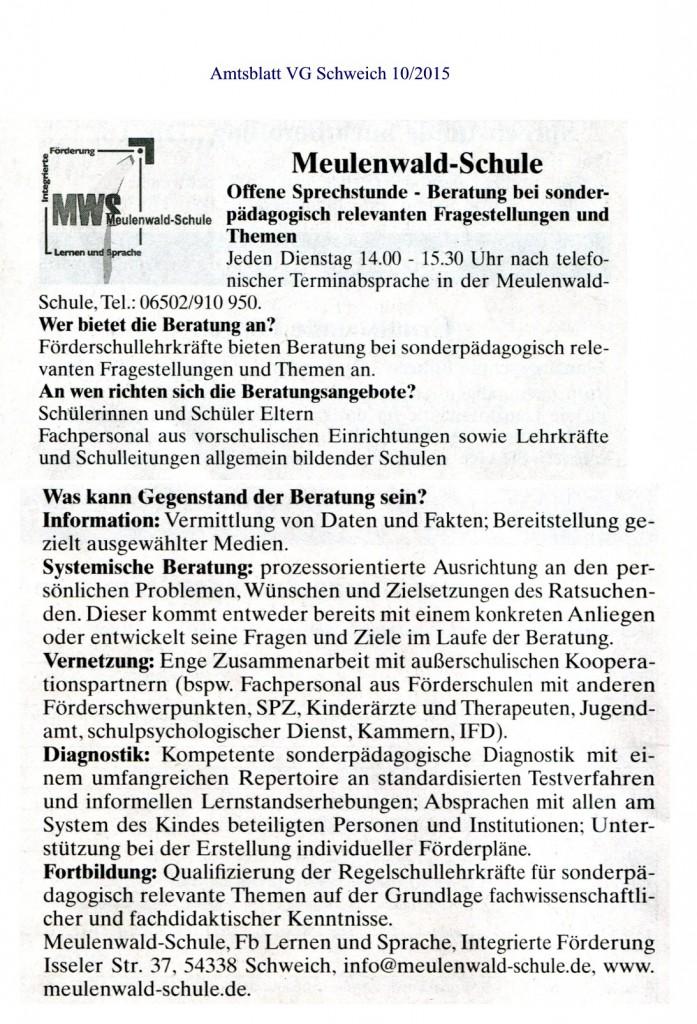 Amtsblatt 03-2015 Beratung MWS