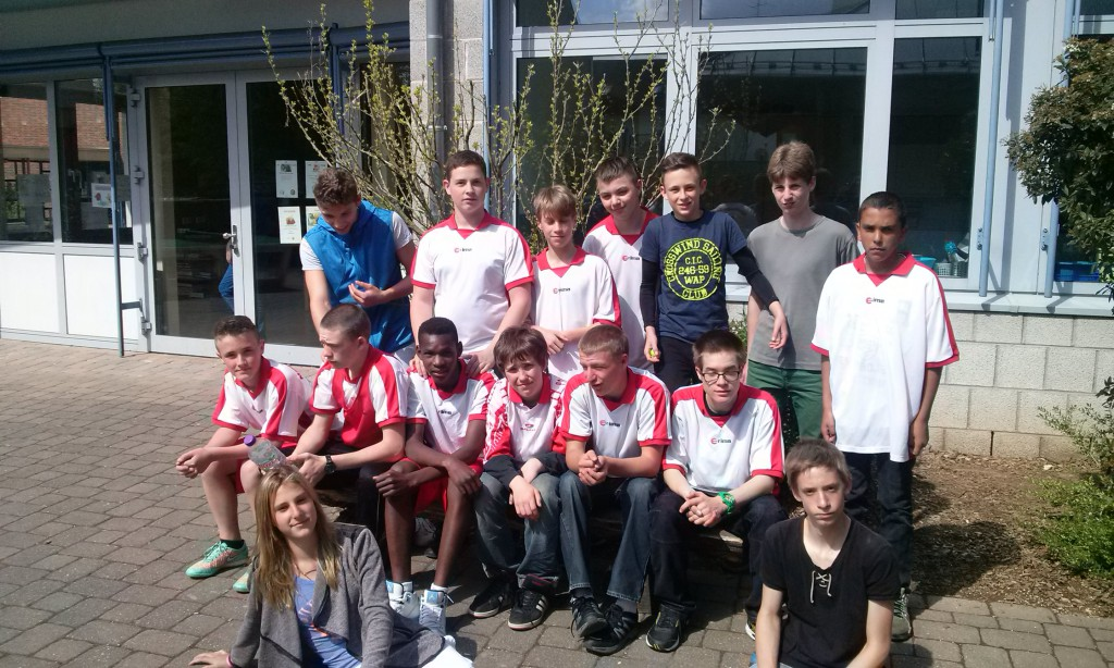 Bezirksentscheid Fußball 2015 Mannschaft