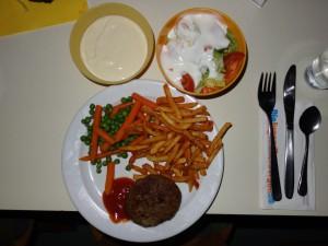 Dinner in the dark 1