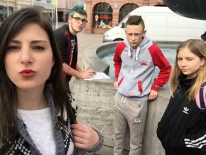 Celine, Nico, Maurice, Nora